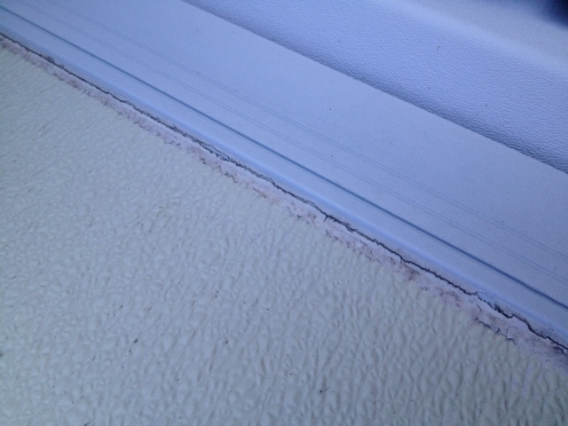 Fleetwood Filon Roof Caulk Less Seams I Have Caulk On